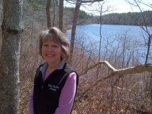 Helen at Little Cliff Pond