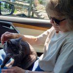 Helen & Hana in car - compressed
