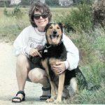 Helen & Makena on beach trail - compressed