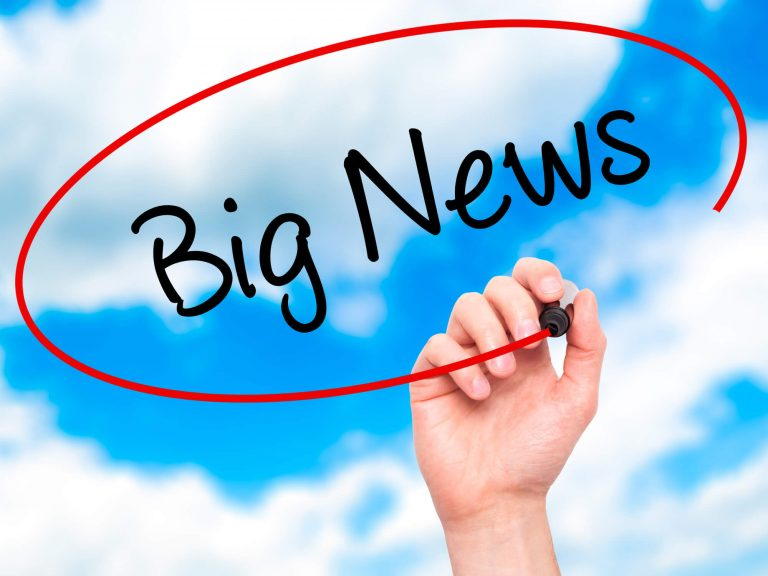 Read more about the article Big NEWS!