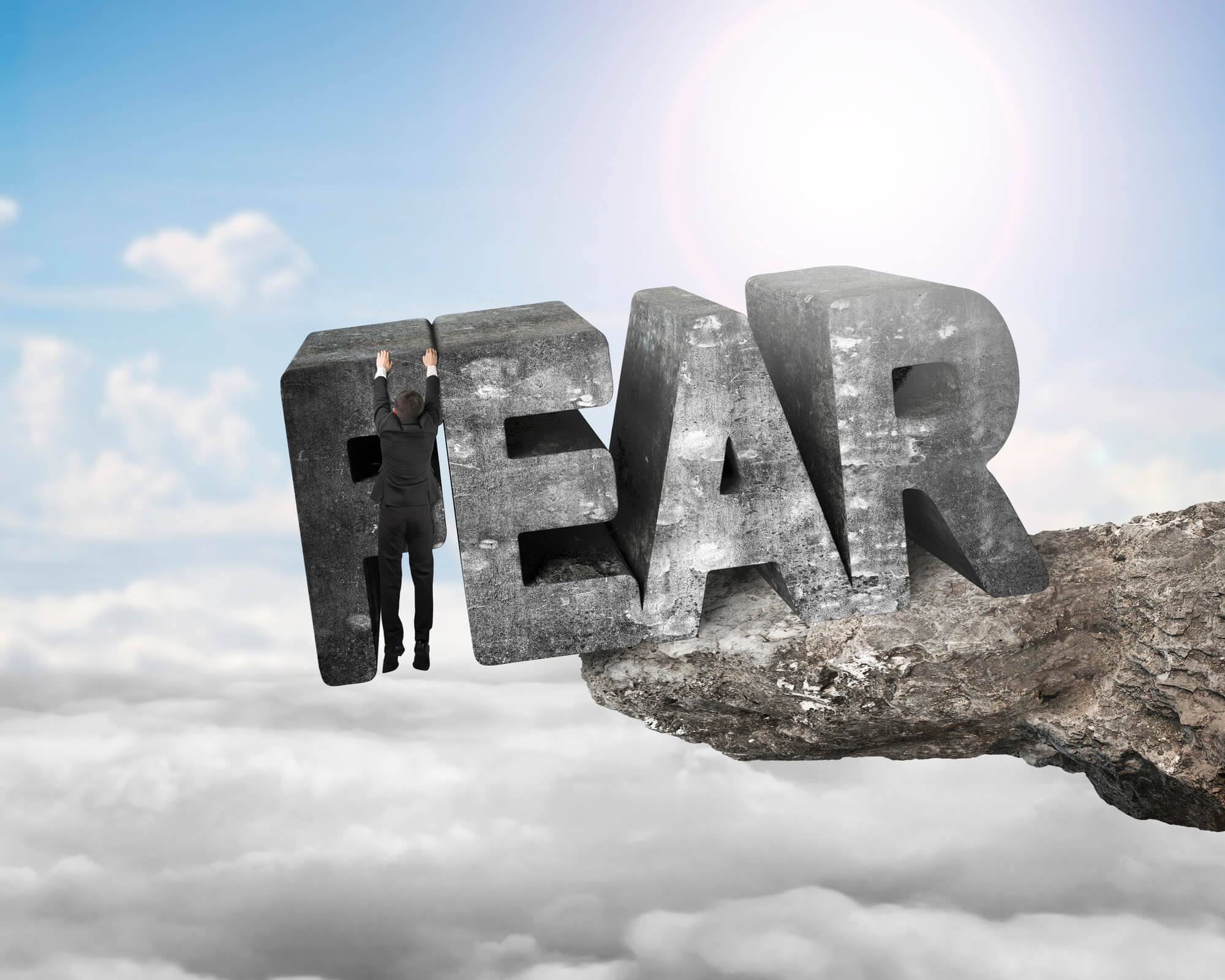 3 Tips to Kick Fear to the Curb